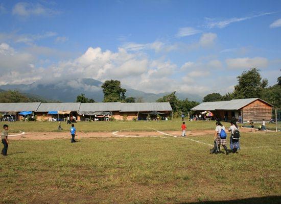 Schulgelände der Fachschule für Ländliche Entwicklung, Projekt: Fundación Nueva Esperanza, Elote e.V.